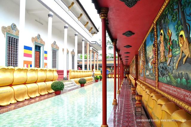 Inside Wat Preah Prom Rath