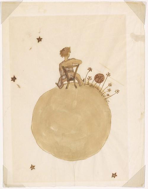Desenhos de Saint-Exupéry para O pequeno príncipe