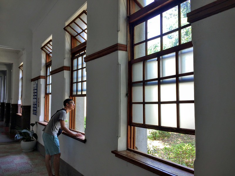新竹州廳-窗戶