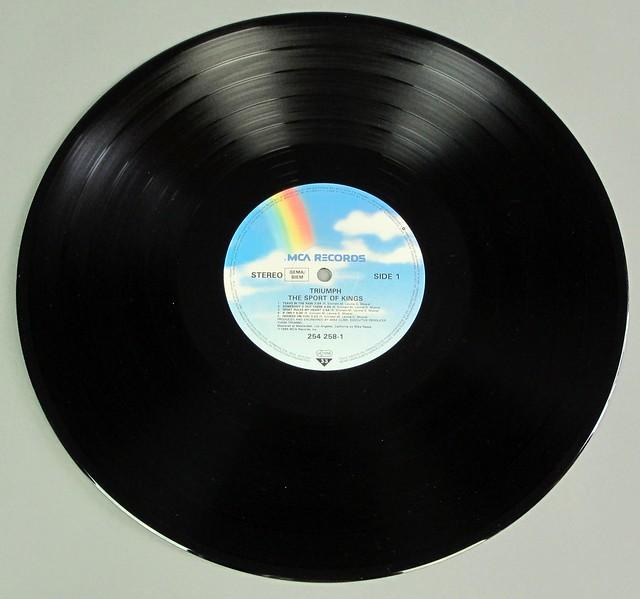 "TRIUMPH Sport of Kings 12"" LP VINYL"