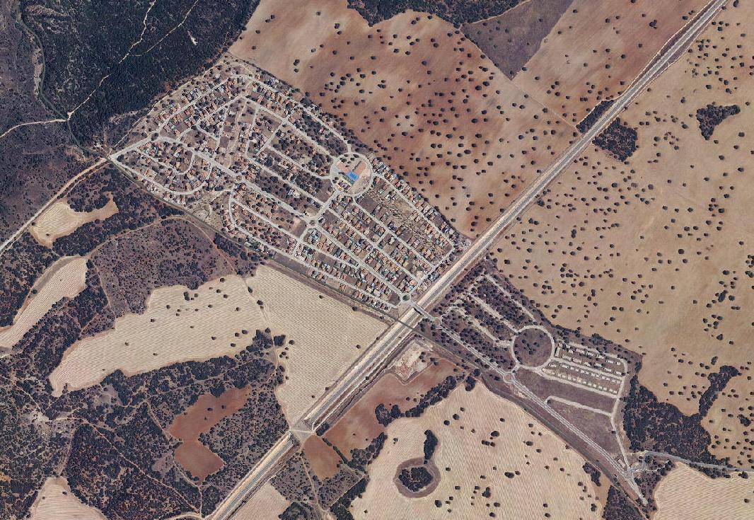urbanización medina azahara, guadalajara, calorrock, después, urbanismo, planeamiento, urbano, desastre, urbanístico, construcción, rotondas, carretera