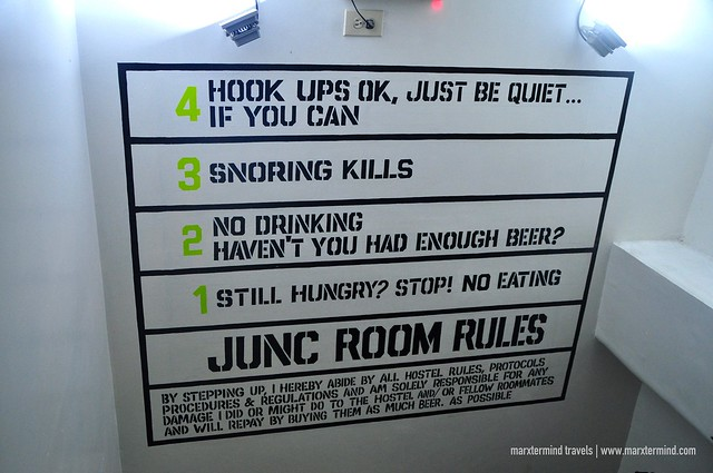 Junc Room Rules Junction Hostel