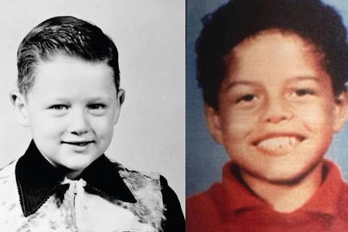 Фото | Билл Клинтон и Дэнни Уильямс в детстве