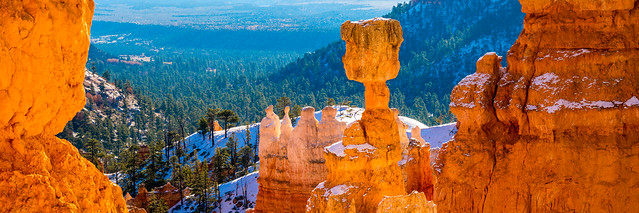 Fine Art Bryce Canyon Hoo Doos Covered in Snow! Dr. Elliot McGucken Winter Bryce Canyon Fine Art Landscapes