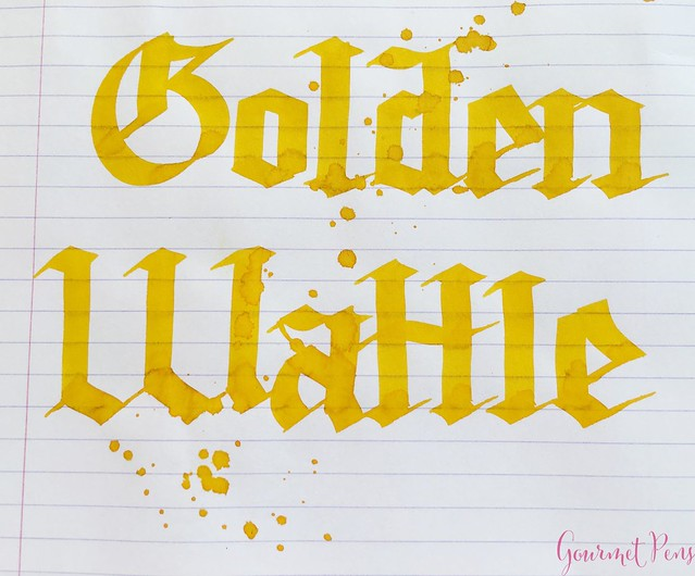 Ink Shot Review Blackstone Golden Wattle @AppelboomLaren 7