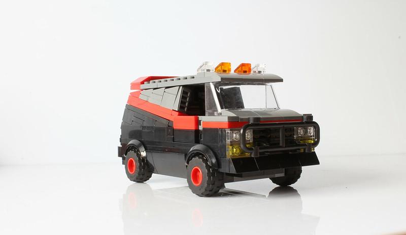 Moc A Teams Van With Instructions Lego Licensed Eurobricks