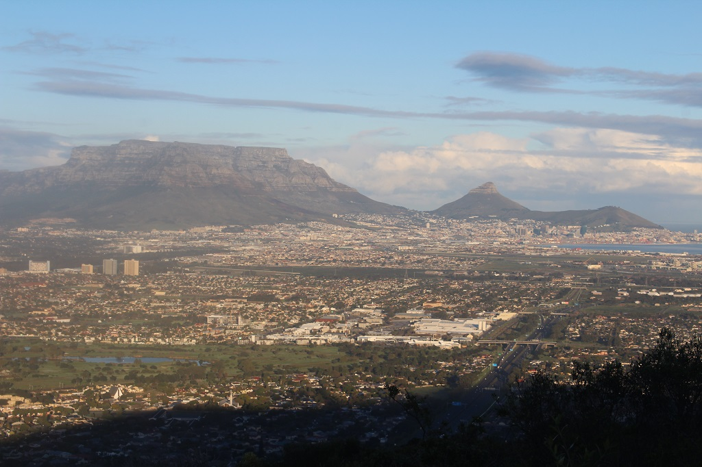 View over Table Mountain