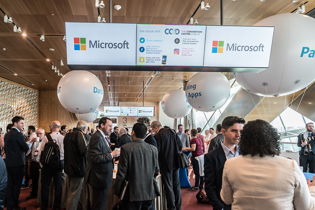 MICROSOFT IRELAND TECH GATHERING [THE CONVENTION CENTRE DUBLIN]-121634