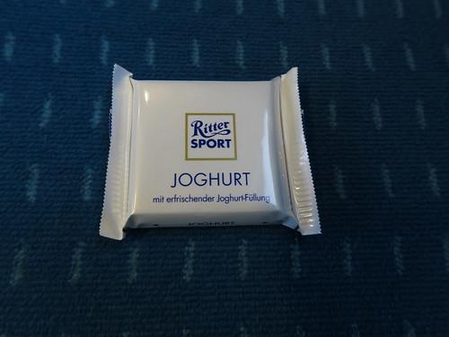 Ritter Sport Mini Joghurt (im Zug von Osnabrück nach Münster)
