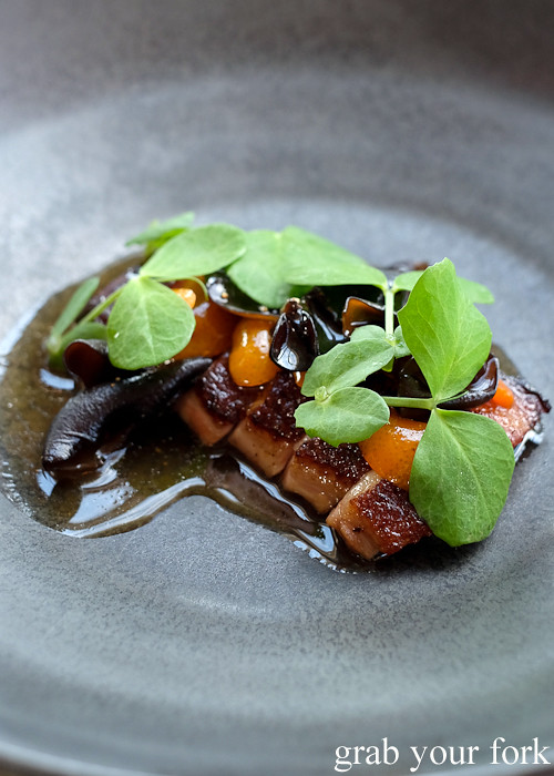 Roasted duck with kampot pepper at Bennelong Restaurant Sydney