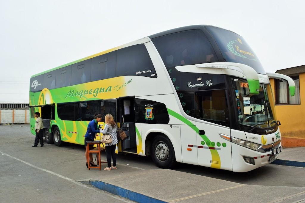 bus en Peru