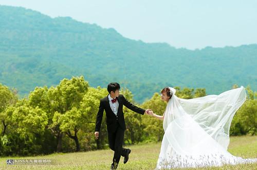 [高雄婚紗推薦]Kiss九九為我和歐爸拍出唯美又韓風的婚紗照 (11)