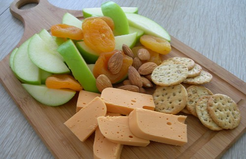 Cheese and Fruit Plate | by The Peaceful Pantry