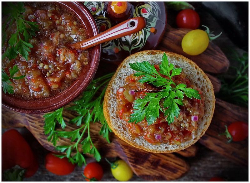 ...Odessa eggplant caviar