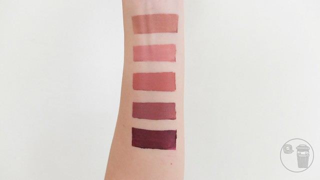maybelline creamy matte brown nudes