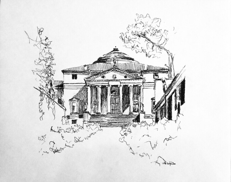 Kleeman drawings NReid-2002 (9) Villa  Rotunda