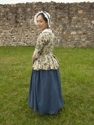 1770s Linen Jacket and Petticoat