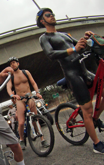 LA World Naked Bike Ride (213)