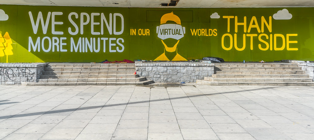 WE SPEND MORE MINUTES IN OUR VIRTUAL WORLDS [THAN OUTSIDE]-119975