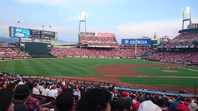 2016.08.07 Mazda ZoomZoom Stadium マツダスタジアム