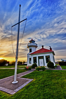 A Pretty Little Thing (Mukilteo Lighthouse at Sunset) | by Michael Riffle