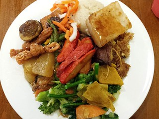 Dinner Buffet Plate from Green Gourmet