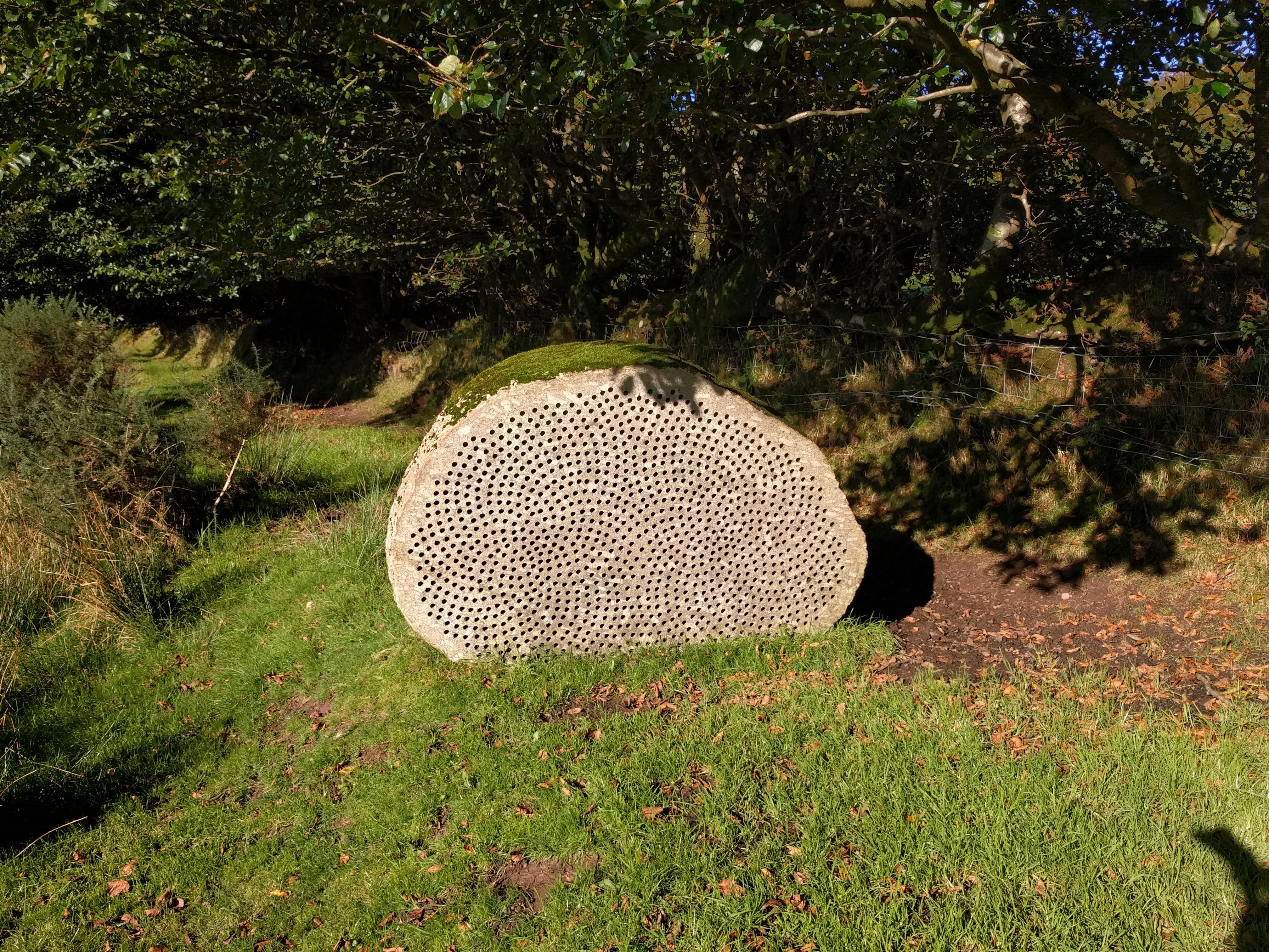 Stone at edge of Exmoor NP #sh #twomoorsway #DevonC2C