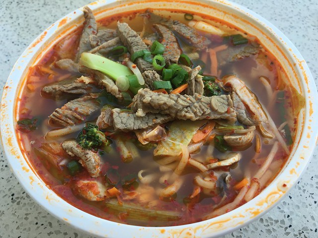 Spicy beef soup - Sorabol