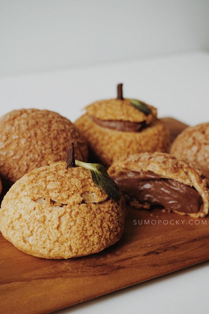 Chocolate Yuzu Choux Au Craquelin