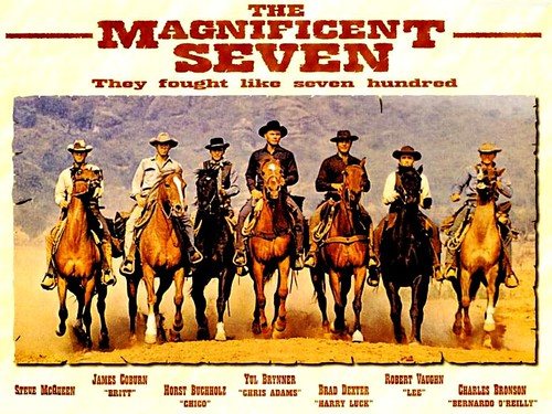 The Magnificent Seven - 1960 - Poster 3