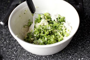 best part: mashing the broccoli | by smitten kitchen