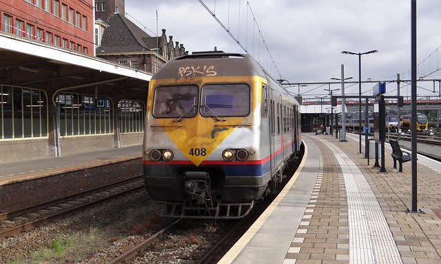 Maastricht NMBS Break 408 naar Liege Guillemins