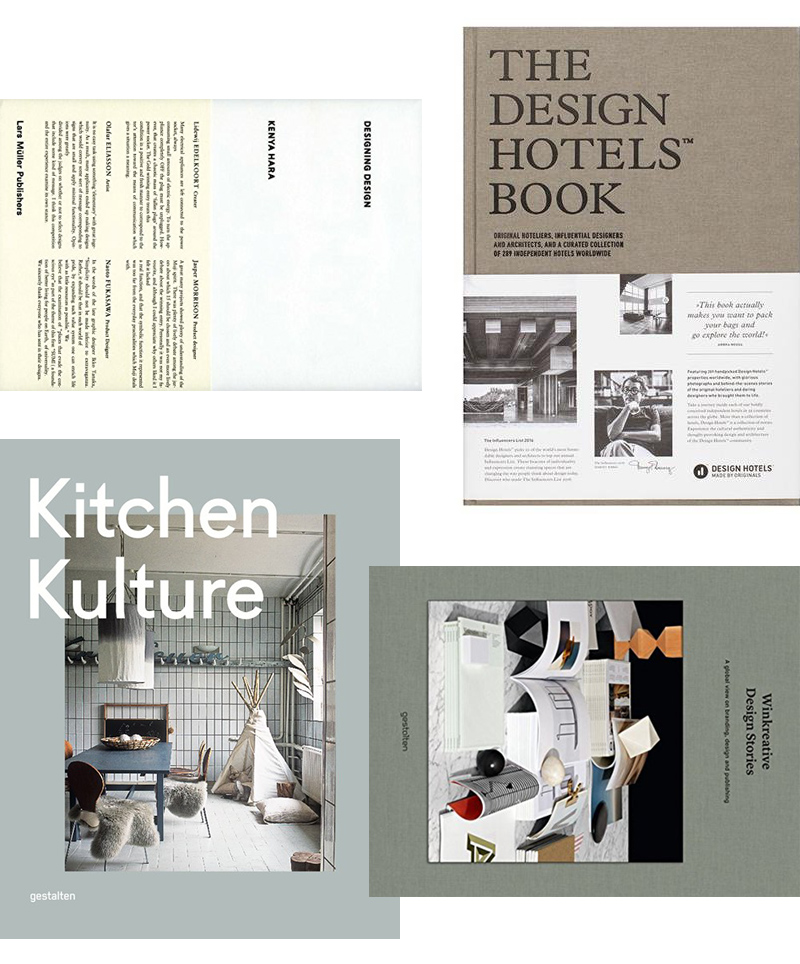 AMM blog | 8 design books for your shelves