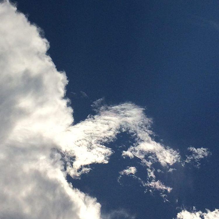 夏も終わりかな。心もなんかスッキリしてる。 #sky #イマソラ