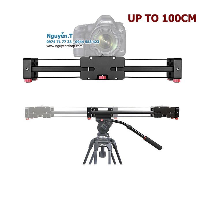 Thanh ray trượt 2 chiều Camera smart Slider T-EX 50cm