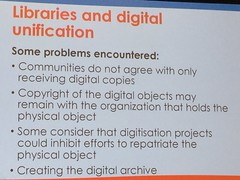 Libraries and digital unification