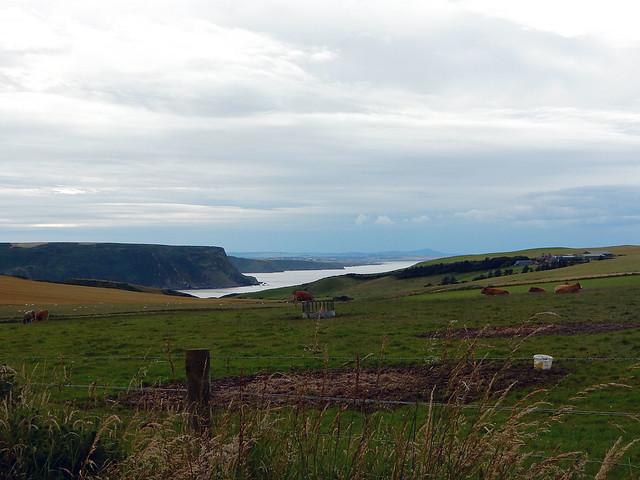 View near Gardenstown