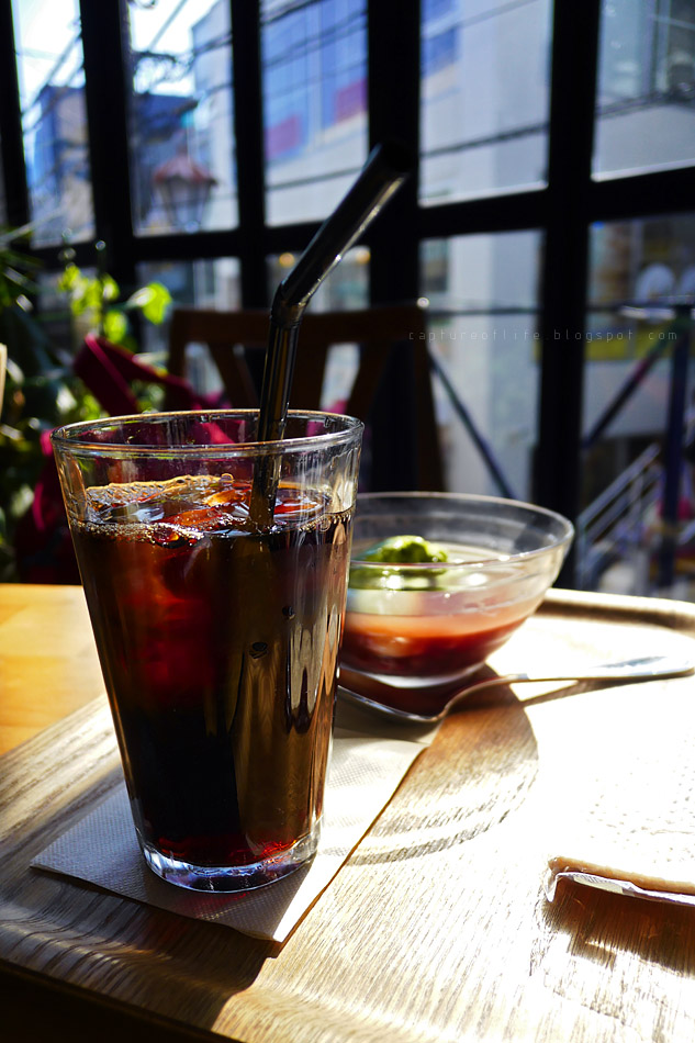 裏原宿的午後咖啡