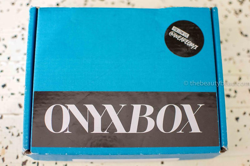 august 2016 onyx box review, the beauty beau