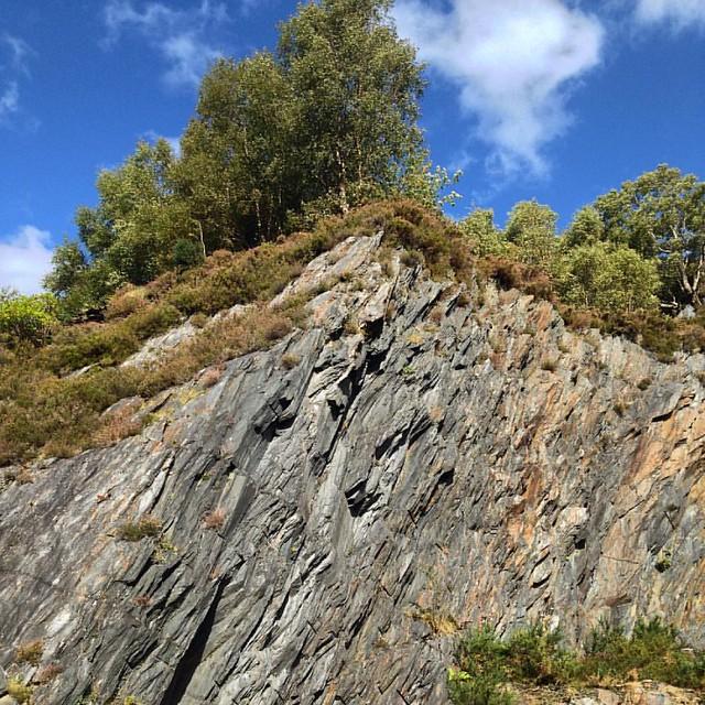 Ballachulish Slate Quarry #scottishscenery #scottishhighlands #scotland #ballachulish #ballachulishslatequarry #slate #stone #rock #disusedquarry