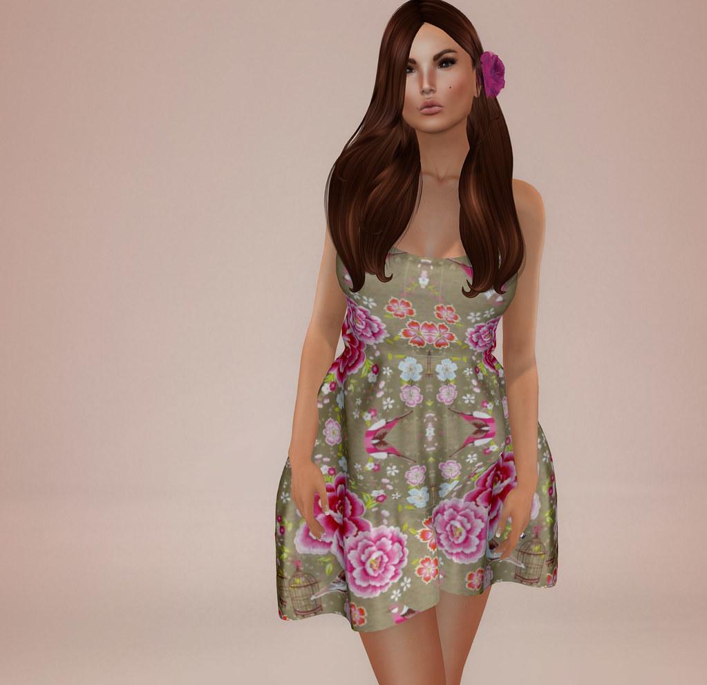 Poppy dress, Sascha's Designs