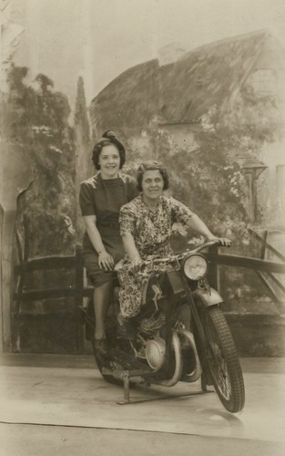 Motorbiking ladies | by TinTrunk