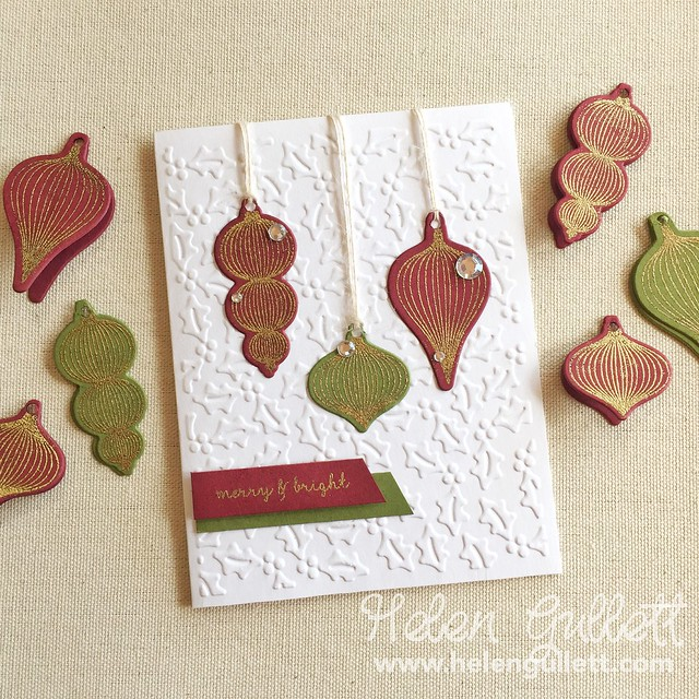 Hero Arts - Ornaments Stamp & Cut