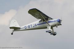 G-BTJA - 1947 build Luscombe 8E Silvaire Deluxe, new Barton resident
