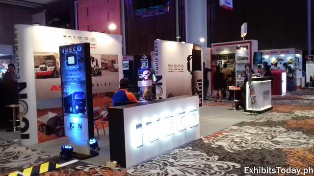 Iveco Exhibit Stand