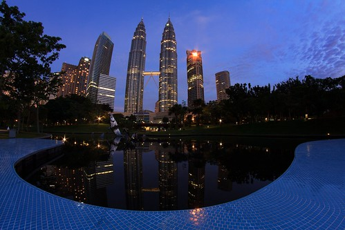 "The ""Fishy"" Side of the Petronas Towers 
