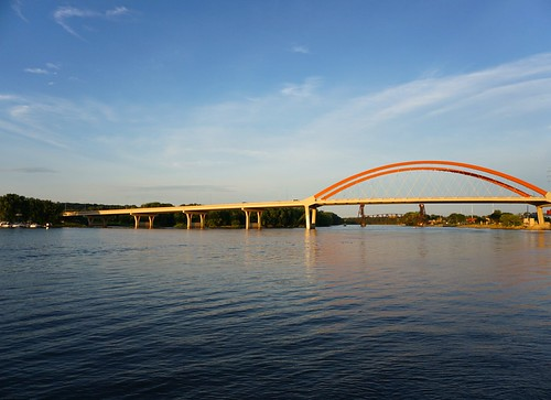 Hastings Bridge over the Mississippi River