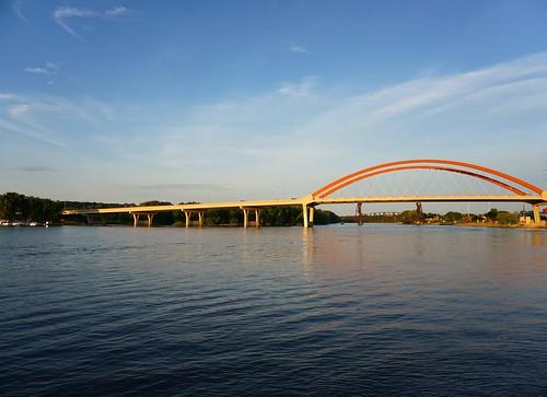 Hastings Bridge over the Mississippi River