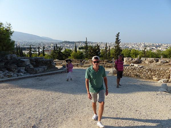 grimpons à l'Acropole