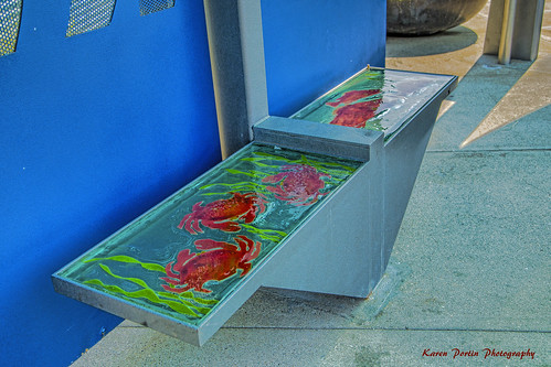 Glass Bench in Bremerton | by KPortin